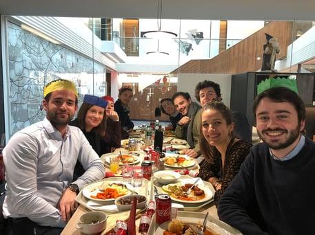 Christmas Dinner Office Dec 2019
